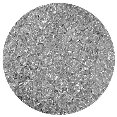 Бисер Тайвань (уп. 10 г) 0001 белый прозрачный в интернет-магазине Швейпрофи.рф