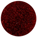 Бисер Тайвань (уп. 10 г) 0005В т.-красный прозрачный