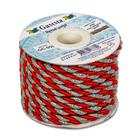 Шнур витой GC-055 (уп. 9,1 м) №026 красный / серебро