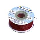Шнур декор. GC-001МС 1 мм (уп. 100 м) №02 красный