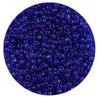 Бисер Тайвань (уп. 10 г) 0008 синий прозрачный