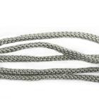 Шнур капрон плоский 1с19 (уп. 50 м) серый