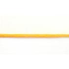 Шнур кожа иск. 3 мм (уп. 30 м) перламутровый желтый