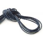 Шнур кожаный 3 мм (уп. 45 м) т.-синий