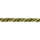 Шнур мебел. без ресниц 6 мм (уп. 25 м) хаки/беж. меланж