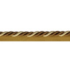Шнур мебел. с ресницами 6 мм (уп. 25 м) беж./коричн.