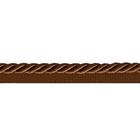 Шнур мебел. с ресницами 6 мм (уп. 25 м) коричневый
