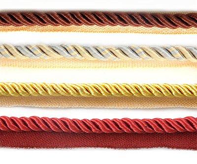 Шнур мебел. с ресницами 8 мм (уп. 25 м)
