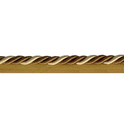 Шнур мебел. с ресницами 8 мм (уп. 25 м) беж./коричн. в интернет-магазине Швейпрофи.рф