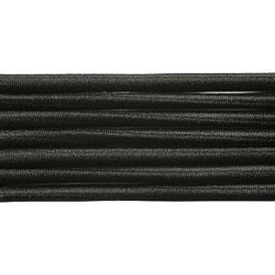 Шнур резиновый 2.5 мм Тур.  черн. рул. 100 м в интернет-магазине Швейпрофи.рф