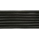 Шнур резиновый 2.5 мм Тур.  черн. рул. 100 м
