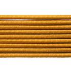 Шнур резиновый 2.5 мм Тур. №112 жёлтый  рул. 100 м