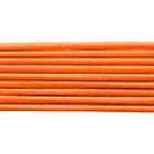 Шнур резиновый 2.5 мм Тур. №157 оранжевый  рул. 100 м