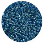 Бисер Тайвань (уп. 10 г) 0026 св.-синий с серебр. центром