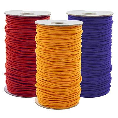 Шнур резиновый 3 мм Тур.  цветной рул. 100 м