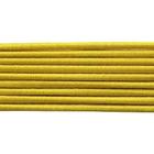 Шнур резиновый 3 мм Тур. желт. рул. 100 м