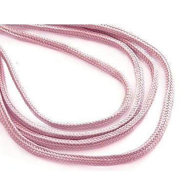 Шнур толстый В340 6 мм (уп. 100 м) №140 розовый в интернет-магазине Швейпрофи.рф