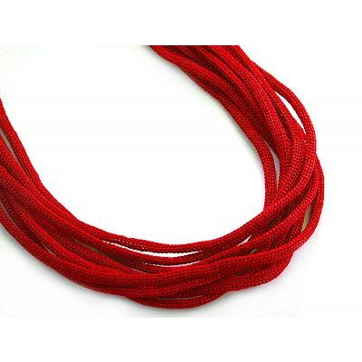 Шнур тонкий 4 мм 1с35 (уп. 200 м) красный в интернет-магазине Швейпрофи.рф