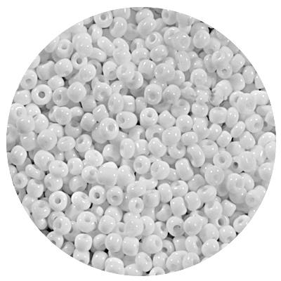 Бисер Тайвань (уп. 10 г) 0041М белый матовый в интернет-магазине Швейпрофи.рф