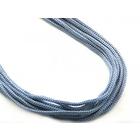 Шнур тонкий В635 4 мм (уп 100м) №190; 180 голубой