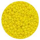 Бисер Тайвань (уп. 10 г) 0042М желтый матовый