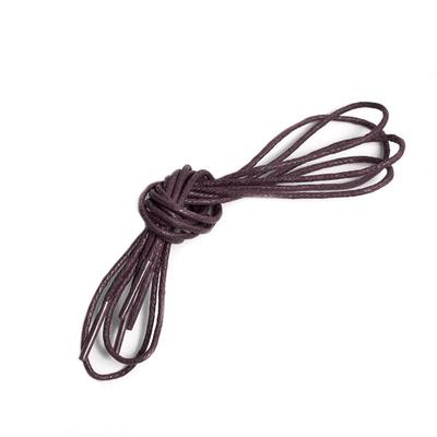 Шнурки вощеные RY-M20 1,5 мм 60 см коричневый в интернет-магазине Швейпрофи.рф