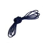 Шнурки вощеные RY-M20 1,5 мм 80 см синий