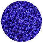 Бисер Тайвань (уп. 10 г) 0048 синий матовый