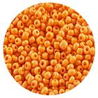 Бисер Тайвань (уп. 10 г) 0050 оранжевый матовый