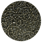 Бисер Тайвань (уп. 10 г) 0052 серый с серебр. центром