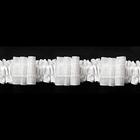 Шторная тесьма  30 мм (уп. 100 м) (красн. уп.) бел.