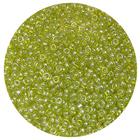 Бисер Тайвань (уп. 10 г) 0104 салатовый прозрачный