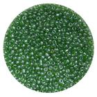 Бисер Тайвань (уп. 10 г) 0107В зеленый прозрачный