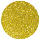 Бисер Тайвань (уп. 10 г) 0110 желтый прозрачный