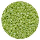 Бисер Тайвань (уп. 10 г) 0124 салатовый перламутровый