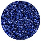 Бисер Тайвань (уп. 10 г) 0128 синий перламутровый