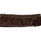 Бахрома подушечная 177 резаная 200 т.коричневая