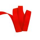 Лента репсовая 12 мм (уп. 27 м) 057 красный