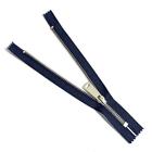 Молния TIT Т5 мет.  18 см никель/джинс
