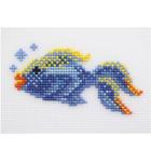Набор для вышивания HP Kids П-0006 «Рыбка» 11,5*6см