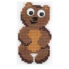 Набор для вышивания HP Kids П-0027 «Мишутка» 9,5*5,5 см