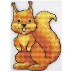 Набор для вышивания HP Kids П-0030 «Лесная гостья» 14*9,5см