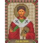 Набор для вышивания бисером Panna ЦМ-1410 «Св. Апостол Тимофей» 8,5*10,5 см