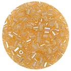 Бисер Тайвань рубка (уп. 10 г) 1162 золотистый радужный