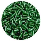 Бисер Тайвань стеклярус (уп. 10 г) 0027 зеленый
