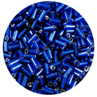 Бисер Тайвань стеклярус (уп. 10 г) 0028 синий