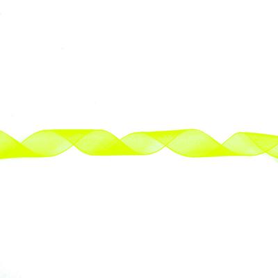 Лента капрон 10 мм JF-001 (рул. 25 м) 068 лимонный (неон) в интернет-магазине Швейпрофи.рф