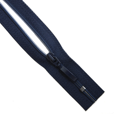 Молния Т5 карман. спираль 18 см SA60P-483  Прибалтика №196 т. синий в интернет-магазине Швейпрофи.рф