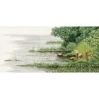 Набор для вышивания Золотое руно МД-018 «Удачный улов» 18*38 см