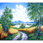 Набор для вышивания К. (40*50 см) 0240 «Дорога к озеру» 40*50 см